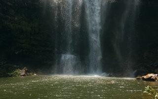 Cachoeira do Cordovil na época com volume de água elevado