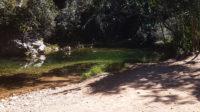 Prainha na trilha da cachoeira do Segredo na Chapada dos Veadeiros