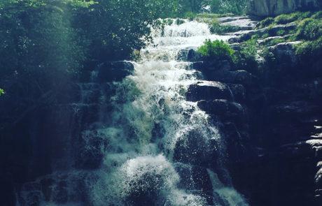 Cachoeira dos Arcanjos na Chapada dos Veadeiros em Alto Paraíso