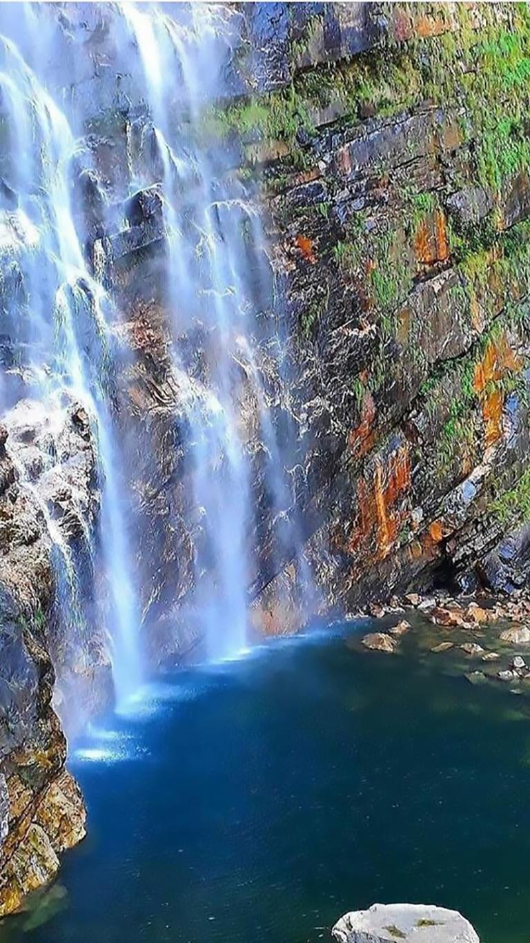Cachoeira do Label em São João da Aliança