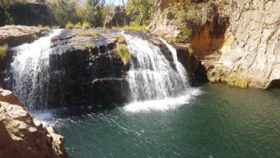 Cachoeira da luz do complexo do rio Macaquinhos