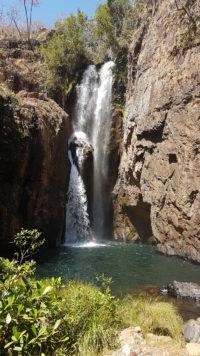 Cachoeira do Encontro dos rios macacão e macaquinhos na Chapada dos Veadeiros