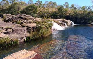 Cachoeira do Passador no Complexo do Rio da Prata na Chapada dos Veadeiros