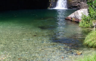 Cachoeira Rei do Prata em Cavalcante na Chapada dos Veadeiros